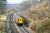 4th Feb 81:  2EPB  5678 climbs the last few yard to Weybridge with the 12.55 from Staines