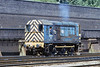 13th Jul 81:  08630 rumbles back to Old Oaj Common depot