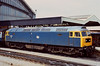 6th Jun 81:   At Bristol Temple Meads 47344 stands at the head of a north bound service