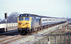20th Jan 81:  Hammering through Taplow is 50001 on the 12.25 to Plymouth