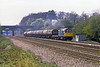 14th Apr 82:  33026 heads tanks up the relief away from Ruscombe