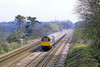 18th Apr 82:  33026 is seen at Old Basing while returning some stock used for morning commuter services back to Salisbury