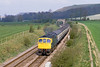 18th Apr 82:  33032 on the 10.46 Westbury to Portsmouth Harbour is captured nearing Heytsbury