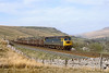 26th Apr 82:  47308 is nearing the B6259 road bridge on the final stretch of the climb Ais Gill