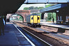 18th May 83:  A DMLV parcels van runs through Twyford on a Paddington to Reading working