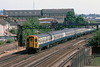 5th Jul 83:  7336 leads on the 09.58 from Victoria to Ore and is nearing East Croydon