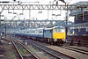 19th Apr 83:   Entering Rugby is 86229  on the 15.55 Euston Manchester