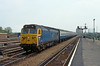 5th Jun 83:  At 12.23 50019 'Ramillies' arrives at Reading on the11.45 tp Plymouth from Paddington