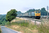 13th Jul 83:  On the Up Main at Twyford is 47142 rushing the Carmarthen Newspaper train back to it's London base