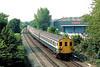 11th Jul 83:  2 EPB 5752  nears the Hackbridge stop