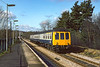 7th Apr 1983:  It is 10 minutes past 10 as L594 climbs the hill through Gomshall with the 09.10 from Reading to Gatwick.  These services did not ever stop at this station but there was a half hour Guildford to Redhill stopper that did.