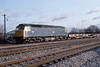 1st Feb 83:  47068 makes for Maidenhead with an empty 2 wagon Cartic set.  It will return later carrying Ford trucks from the Langley Plant