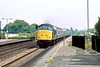 13th Jul 83:  45120 heads the 13.07 Padington to Liverpool on the Main Line through Taplow