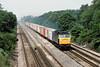 7th Jun 83:  47194 works a Southampton to Ripple Lane liner through Pystock