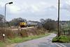 21st Apr 83:  50029 'Renown' runs beside Waingels Road wrking the 11.50 Paddigton to Oxford