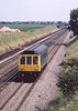 28th Jun 1983:  Sprinting along the Down Main at Shottesbrooke is L103. This was nprobably being used for a route learning trip