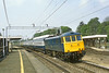 27t Apr 83:  86316 on the down fast though Berkhamsread with  three Mk 4 sleeping cars