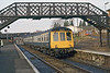 8th Feb 1983:  The 09.17 Guildford to Tonbridge arrives at Shalford in the hands of L588