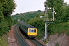 10th Jun 83:  The 09.50 Banbury to Marylebone takes the platform line at High Wycombe