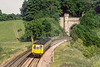 20th Jun 1983:   At 18.19 Unit L419 exits Twerton Tunnel while working a Westbury to Bristol Temple Meads service