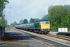 17th May 83:  The 074.12 from Newbury thrashes through Taplow with 47547 on the point