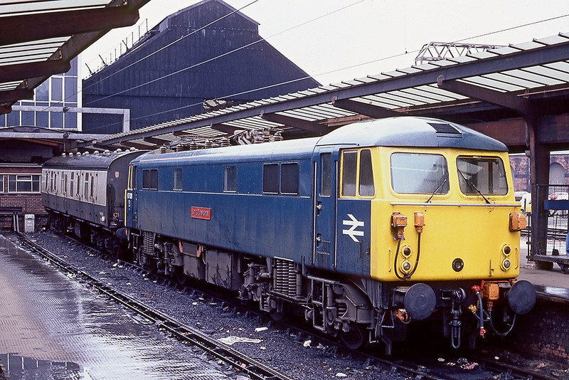 19th Apr 83:  87028 Lord President relaxes at Preston