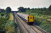 28th Sep 1094:  Nearing Epsom is 4 EPB (415/2) 5341 that is working the 11.48 from Horsham to Victoria