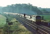 1st May'84:  56044 works west with stone empties nr Brimpton