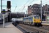 13th Aug '84:  87025 enters Carlisle with a southbound express