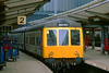 13th Apr 84:  A Class 108 unit in platform 2 at Carlisle will form the 15.46 to Whitehaven