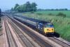 30th May 84:  50040 'Leviathan' with the 08.22 Newbury to Paddington at Shottesbrooke