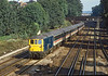 18th Sep 1984:  Running through South Croydon is 73113 working the 10.15 Gatwick Express fronm Victoria