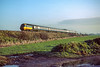31st Jan 1984:  Nearing Ruscombe is the 08.35 Paddington to Weston Super Mare with 43027 as the leading power car.