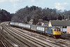 2nd Apr 84:33033 arrives at Woking with the empty vans from Eastleigh to Clapham