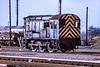 22nd Jan 1984;  08953 the shunter at Westbury