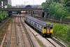 17th July 85:  455848 leaves Clapham Junction with a Hampton Court
