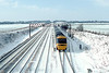 10th Feb 85: An unknown HST passes the end of the now disconnected  Up Goods Loop