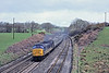9th Apr '85:  45048 westbound through Burlescombe