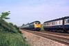 29th May 85:  47602 on the 07.30 from Oxford passing L405 heading to Reading at Shottesbrooke