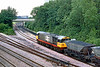 24th Jul 85:  58014 enters Didcot Power Station with another load of coal