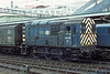 19th May '85:  08533 on Pilot duties at Euston