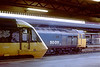12th Aug 85:  50011 stands in Reading's platform 5 as 43037 waits ready to depart to the west