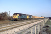22nd Jan 85:  56043 & 56122 head west through Taplow wit empty boxes from Purfleet to Westbury