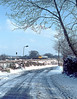 10th Feb 85:  The 10.46 from Paddington to Oxord nears a snowy Waingels Road