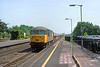 3rd July 85:  56048 with empty Yeoman hoppers on the Down Main through Taplow