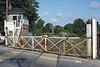 27th Aug 1986:  Fishbourne Level  crossing  on tbe A27 just west of Chichester.  It was also the junction for the line that went to Midhurst that was still open to Lavant