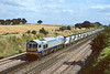 2nd Sep '86:  59001 runs west  at Milley Bridge at Waltham St Lawrence