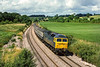 31st Jul 1986:  47626 'Atlas' is working the 'Torbay Express'  the 11.05 from Paignton to Paddington at Wolfhall Junction
