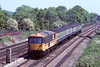 17th May '88:  73128 and a 4TC set on a Weymouth fast