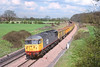 14th Apr '89:  56048 with ARC boxes westbound at Frouds Lane, Woolhampton